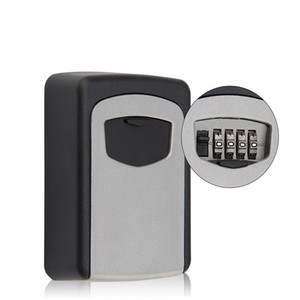 Digit Combination Key Lock Box Outdoor Wall Mount Safe Security Storage Organizer