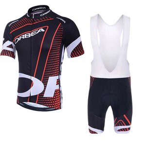 Ropa Ciclismo ORBEA Cycling jersey Sets Short Sleeves bib shorts sets Racing Bike MTB Cycle Clothes Wear Sportswear H040702