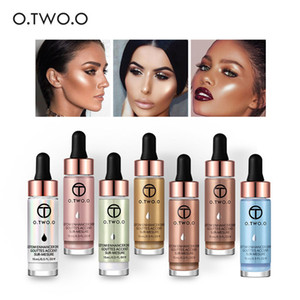 O.TWO.O Marca Liquid Highlighter Maquillaje Para Mujeres Magic Face Brighten Glow Glitter Maquillaje Resaltador Kits Cosméticos