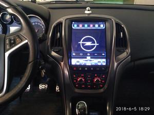32g ROM Dikey Tesla Ekran Android Araba GPS Multimedya Video Radyo Çalar Rash Opel Astra J Araba Navigaton Stereo için
