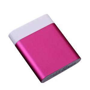 DIY 4 * 18650 Chargeur de batterie Power Bank Box pour iPhone Smartphone charge portable pour téléphone poverbank externe Banque batterie sans batterie
