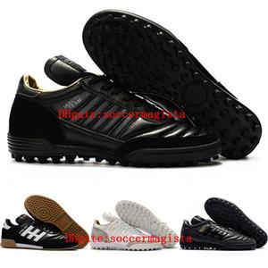 Chaussures de football 2018 originales pour hommes copa MUNDIAL TF TURF GOAL INDOOR chaussures de football Mundial Team Astro Craft chaussures de football scarpe calcio