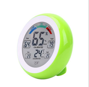 Indicador de temperatura digital multifuncional termómetro higrómetro humedad metros Max Min Valor representación de curvas C unidad / F