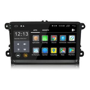 2 Din 9 polegada Android 8.0 Car DVD Player GPS de Navegação Rádio Estéreo Para VW / Volkswagen / Passat / Jetta / Tiguan / Touran / POLO / Golfe / Skoda / Octavia / Mar