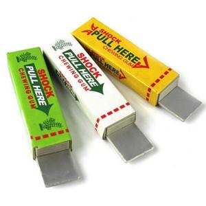 New Interessante Brinquedos choque elétrico chocante Pull Cão principal Chewing Gum Truque Gags Segurança Joke Toy Novidade Itens mais baixo preço