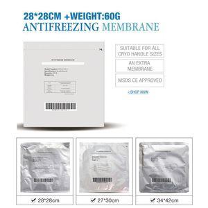 Anticongelante Membrana Máquina consumíveis Peças Cryo Terapia Cooling Gel Pad Fat Anti congelar por Fria Peso reduzir Cryo Terapia Máquina