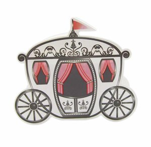 Romantik Peri masalı Iyilik Hediyeler Bebek Duş Düğün Şeker Kutusu Külkedisi Kabak Arabası düğün dekorasyon evlilik 100 adet