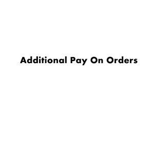 Pagamento adicional em seu pedido este link não é para pedidos de mercadorias apenas para postagem ou outro pagamento adicional