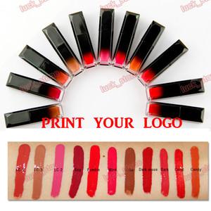 no logo 13 color lipgloss Moisture Moisture liquid lipstick Water Lip Glaze candy coral dark moon minnk like ... acepta su impresión del logotipo