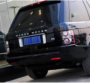 10 adet / grup Yeni Kaput Ön Rozeti Mektup Amblemi Range Rover Land Rover Araba Çıkartmaları Için