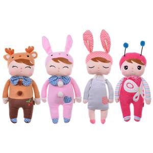 Muñecas Metoo Angela conejo 35 cm bebé muñeco de peluche dulce lindo peluche juguetes Muñecas para niños niñas Cumpleaños / Regalo de Navidad