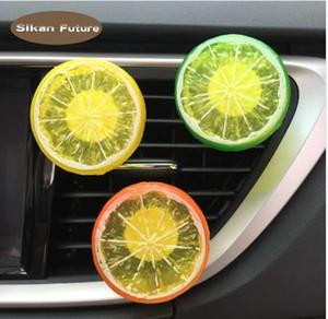 Lemon clipe de ventilação, clip perfumaria, decoração de interiores.