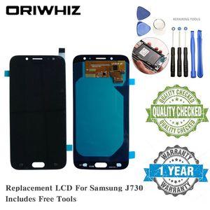 Ücretsiz Tamiri Araçlarıyla Samsung J730 J510 LCD Ekran Yedek Ekran Dokunmatik Ekran Komple Digitizer OLED TFT Kalite