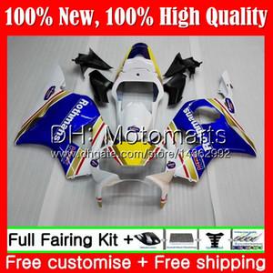 Rothmans Blue Body per HONDA CBR900RR CBR 954 RR CBR900 RR CBR954RR 02 03 41MT0 CBR954 RR CBR 900RR CBR 954RR 2002 2003 Carena