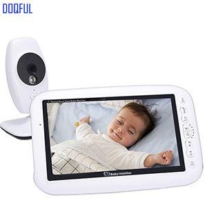 7 Inch Wireless Digital Video Baby Monitor Night Vision Temperature Detection Record Night Vision Nanny Camera Baba Electronics