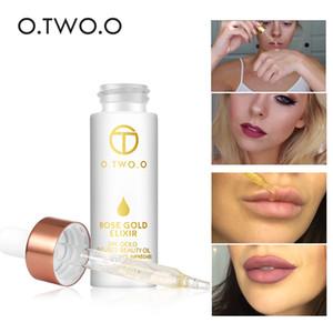 O.TWO.O Olio per elisir per la pelle in oro rosa 24k per olio essenziale per il viso Prima del Primer Oil idratante per il viso