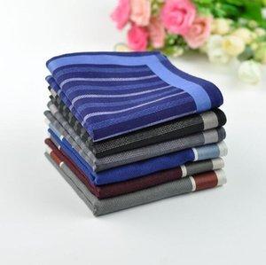 43 6pcs Handkerchief Pañuelo de pañuelo Hombres libres C cuadrados de 100 's * 43cm% algodón envío hombre bolsillo cblbb