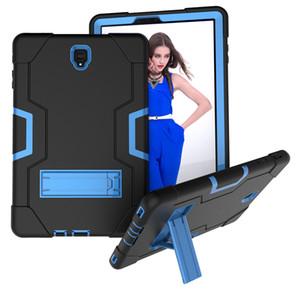20 pcs 3 em 1 à prova de choque de silicone híbrido crianças safe case para samsung galaxy tab s4 10.5 t830 t835 t837 2018 tablet + stylus