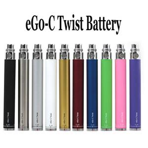 EGo-c Büküm Pil Elektronik Sigara Değişken Gerilim Akü 3.2-4.8 V 650 mah 900 mah 1100 mah Vizyon eGo tüm EGO sigaraları için