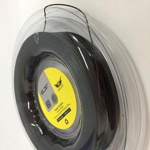 Nova Chegada Melhor Qualidade 660FT Premium Carretel Ronco Cabeça de Controle de Potência de Tênis de Raquete de Cordas Para Tênis De Cordas, 1.25 MM Preto 17