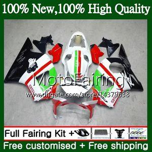 HONDA CBR900RR 용 CBR 954 RR CBR900 RR CBR954RR 빨간색 흰색 blk 02 03 41MF1 CBR954 RR CBR 900RR CBR 954RR 2002 2003 Fairing Bodywork