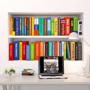 3d Book Bookshelf Funny Living Room Camera da letto Studio Decorazioni Wall Sticker Home Decor Poster Murale Carta da parati
