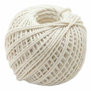 Cotton Twine 220-piedi Cottura Macelleria Cotton Twine Meat Prep e Trussing Turchia Corde ZY Crochet Yarn