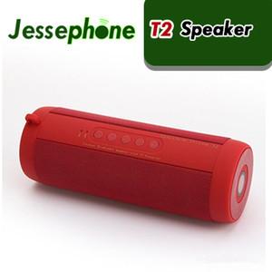 T2 무선 제일 Bluetooth 스피커 방수 휴대용 옥외 무선 소형 란 상자 스피커는 TF 카드 Boombox 자유로운 20pcs를 지원한다