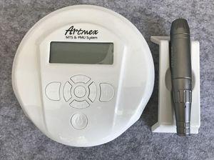 Máquina de maquillaje permanente DIGITAL ARTMEX V6 Máquina de tatuaje Conjunto de la máquina de ojos Rotary Rotary Pen V6 MTS Sistema PMU