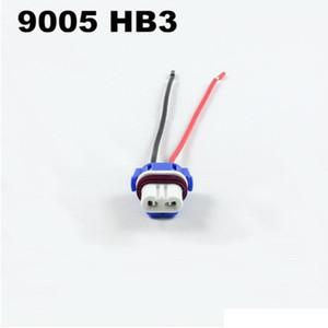 Керамика 9005 HB3 9006 HB4 LED socket косички plug жгут проводов светодиодные лампы держатель автомобиля H4 H7 9006 9005 разъем гнезда