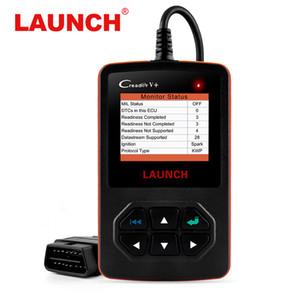 Scanner multi-lingue originale Creader V + OBD2 Fault Code Reader Scanner automobilistico universale Scanner Creader v +