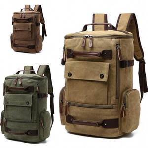 Masculine Shoulder Knapsack Rucksack Pure Color High Capacity Leisure And Multipurpose Travelling Bag Fashion Back Hot Sale 55mg dd