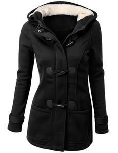 Vente chaude Femmes Veste Vêtements Nouveau Hiver 7 Couleur Manteau Épais Filles Vêtements Dame Vêtements Avec Capuche de qualité supérieure
