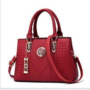 Marca de fábrica Outlet Sra. Tote PU cuero Messenger Bag diseñador bolso antiguo ocio bandolera mujer Bolsos Muje 2018 moda
