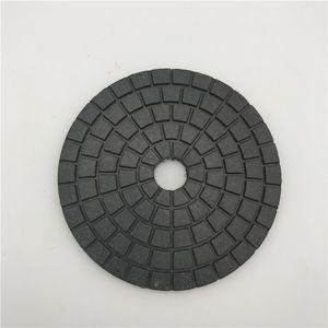 Diamond Polishing Buff 5-дюймовый (125 мм) черный полировочный круг с полировальным кругом Абразивный шлифовальный диск для темного гранитного камня