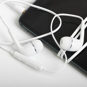 New flat j5 fones de ouvido fone de ouvido com controle remoto e microfone para samsung galaxy s4 i9500 dhl free 1500 pçs / lote
