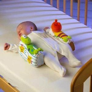 새로운 아기 동물 모양 베개 신생아 베개 안티 롤오버 유아 안전 안티 롤 베개 어린이 사이드 수면 헤드 포지셔너 베개