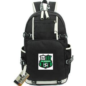 Sassuolo Tagesrucksack Bookbag daypack Calcio SRL Fußballverein Schulranzen Fußball Rucksack Laptop-Rucksack Sport Schulranzen Out Tür Rucksack