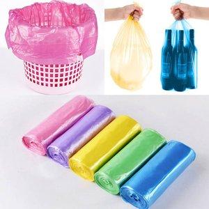45 * 50 cm Kleine Müllsack Müllsäcke Für Badezimmer Mülleimer Zwischenlagen Für schlafzimmer Home Kitchen 7 Farbe 5 Rollen / Set Machen FBA WX9-493