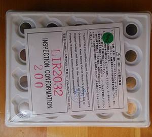 Завод оптового 3, LIR2032 аккумулятор, монета клетка литий-ионная Лиры 2032 супер качества