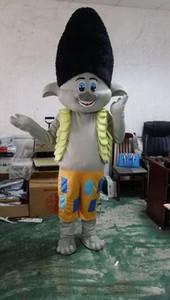 Livraison gratuite Nouvelle Mascot Costume Trolls Défilé Mascot Qualité Clowns Anniversaires Troll LFA