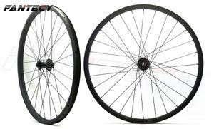 FANTECY Freies verschiffen carbon fahrradräder hookless 29er mountainbike wheelset 29 zoll MTB fahrrad DH carbon wheelset 40mm breite 30mm tiefe