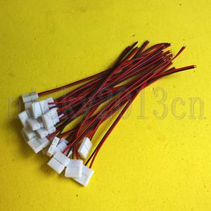 2Pin 8mm10mm Breite Verlängerungs-Verbindungsstück Einzel Clip Kabel für LED einzelne Farbe Streifen-Licht