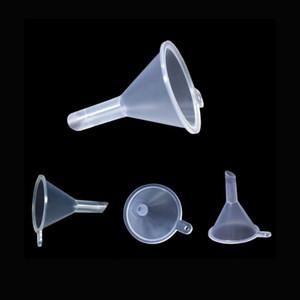 Clear PP Plastic Funnel for Various Liquid Disperser Sub-bottle Needle Bottle Dropper bottle Roll on and Sprayer bottle