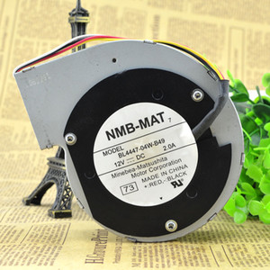 Ventilador centrífugo original BL4447-04W-B49 do turbocompressor de NMB 11028 12V 2A 11CM
