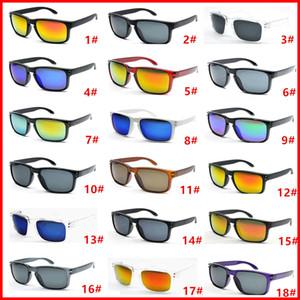 Venta caliente 10pcs Gafas de sol de diseño para hombres Summer Shade UV400 Protección Sport Sunglasses Men Gafas de sol 18 colores