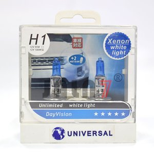2pcs H1 Car Light Lâmpada de halogéneo Original Lâmpada Qualidade alemão 12V 55W 100W luz Super branco