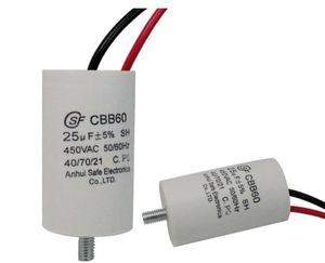 Wholesale CBB60 1.5uf 2uf 4uf 6uf 25uf 450V capacitance