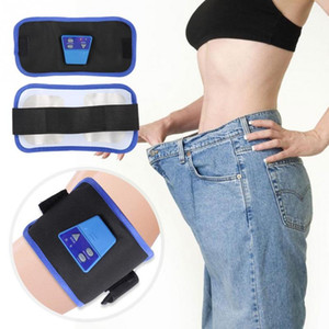 Body Electric Dimagrendo cinghia abs stimolatore muscolare Cellulite Fat Burner cintura addominale Trainer Toning Esercizio Belt