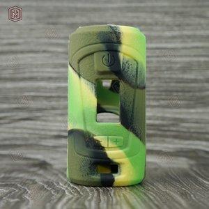Coloré GBOX Squonker 200 w Étui En Silicone Manchon En Caoutchouc Peau De Protection Couverture Pour GBOX Squonker 200 w Vape Mod Haute Qualité